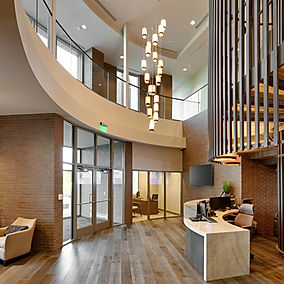Zwick Construction has completed many office projects throughout states like Utah, California, Nevada, and Arizona, including the Deseret First Credit Union Operations Center.