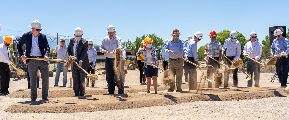 In partnership with several contractors throughout the state, the Utah Chapter of the AGC (Associated General Contractors) broke ground for a new training center.