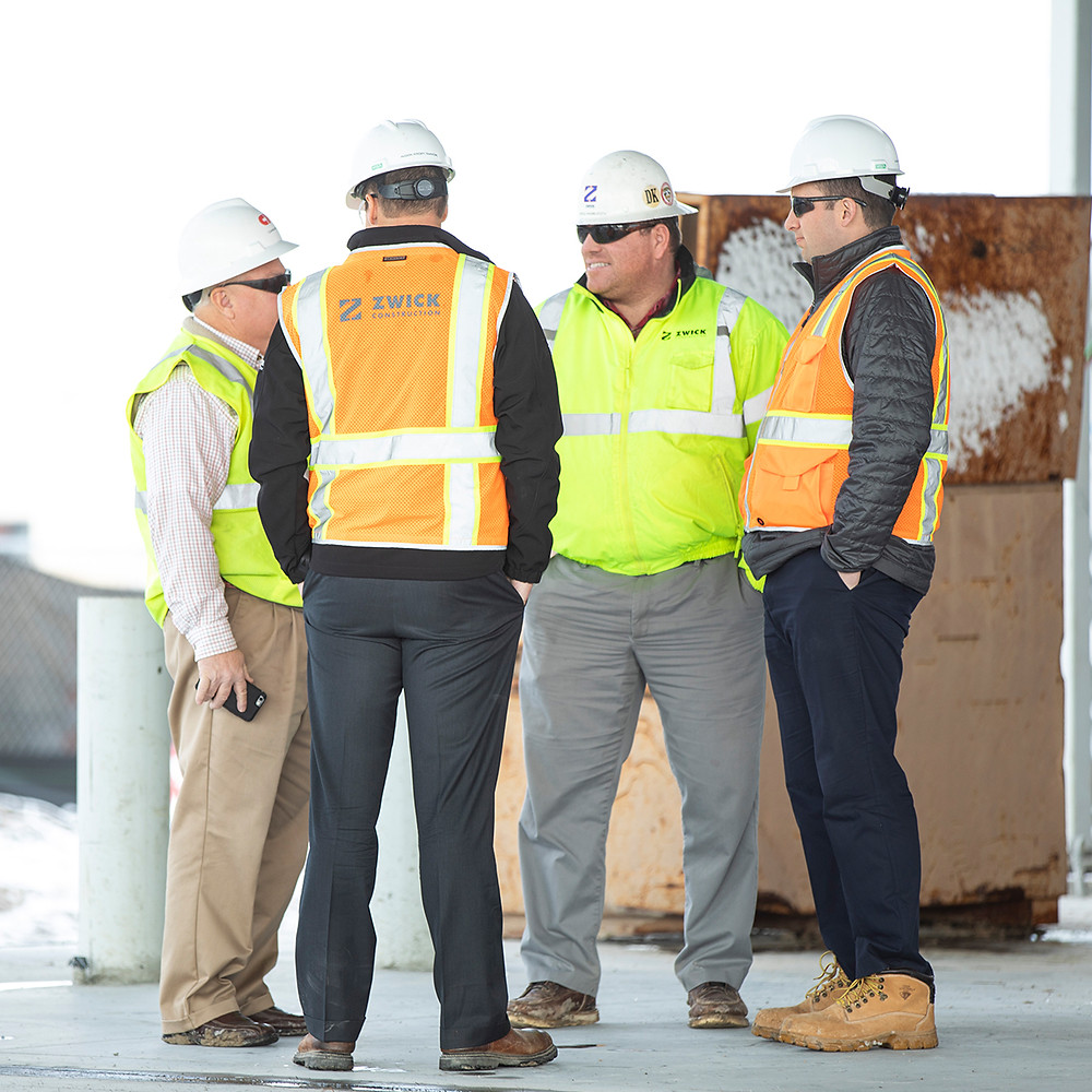 At Zwick Construction we have talented, hardworking project administrators (PAs) who work behind the scenes to help us deliver great projects. Their work is invaluable to the construction process.