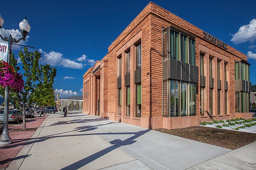 Zwick Construction has completed many retail project throughout states like Utah, California, Nevada, and Arizona, including the Zions Bank branch in Heber, UT.