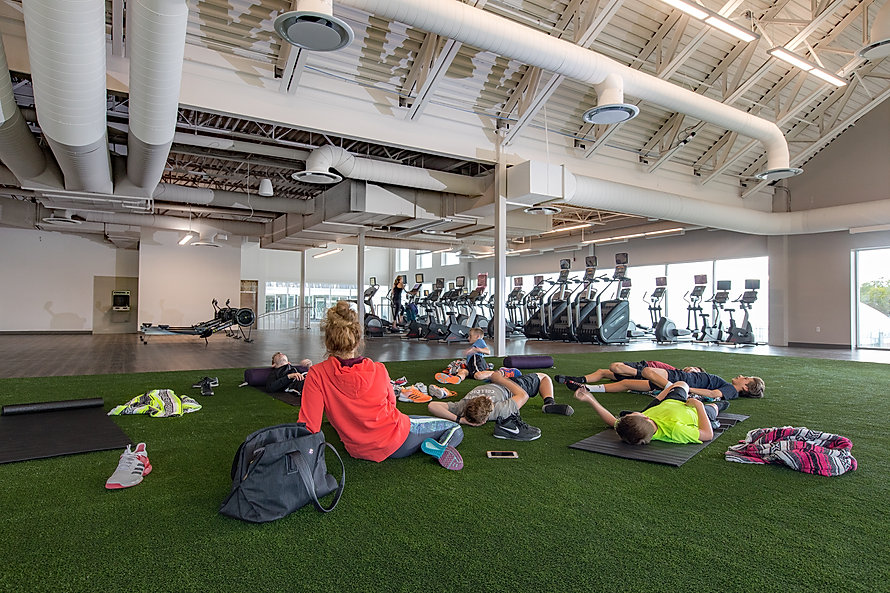 The Salt Lake Tennis Club is one of Zwick Construction's rec center projects.