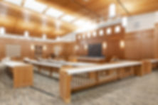 The Brigham Young University Courtroom is just one of many educational construction projects completed by Zwick Construction.