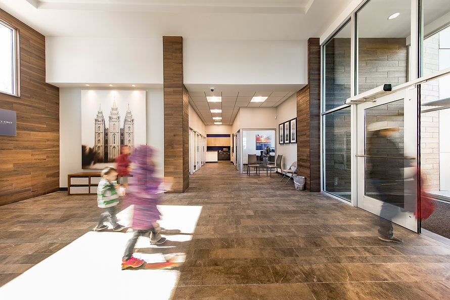 Zwick Construction has completed many office construction projects throughout states like Utah, California, Nevada, and Arizona, including the Deseret First Credit Union in Taylorsville, UT.
