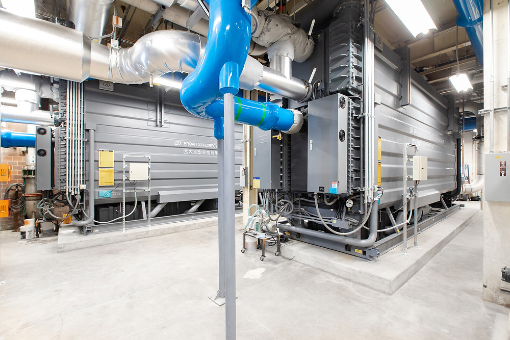 Zwick Construction was hired to replace two 2,000-ton chillers at Brigham Young University in Provo, UT.