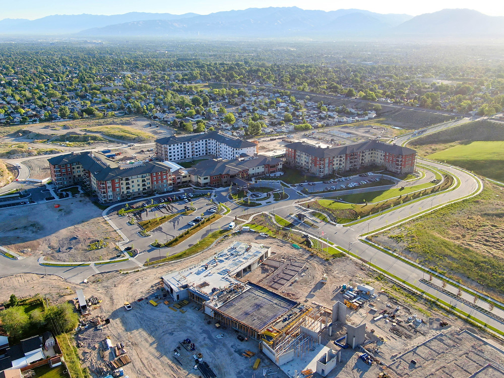 Zwick Construction and our JV partner have made excellent progress on the Summit Vista Senior Community over the last several months.