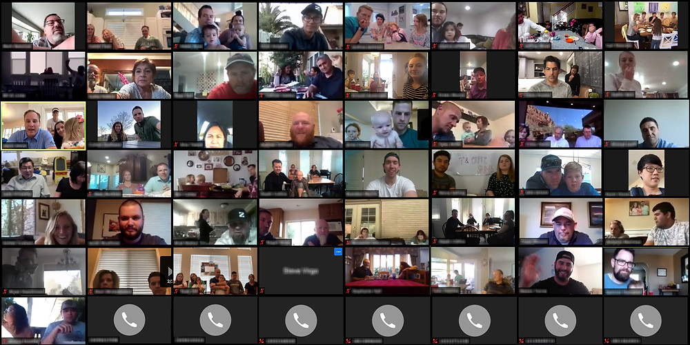 On April 30th, Zwick Construction had a virtual pizza party.