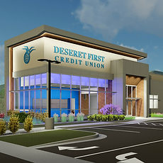 Zwick Construction is working on many projects throughout states like Utah, California, Nevada, Arizona, and other states, including the Deseret First Credit Union Bountiful location.