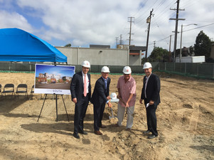 One South Luxury Apartment Development Celebrates Groundbreaking