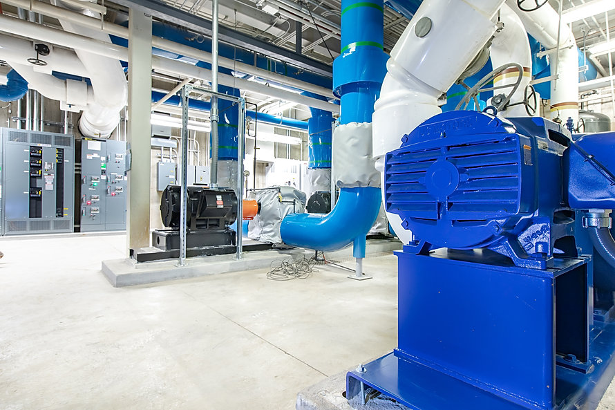 The BYU Absorption Chiller project is just one of Zwick Construction's completed industrial projects.