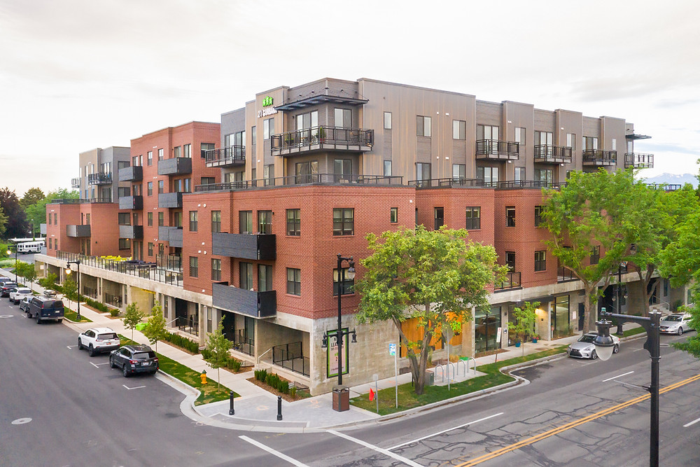 Completed by Zwick Construction in October 2018, the 21 by URBANA apartments has become a highly-sought after complex for Salt Lake City residents.