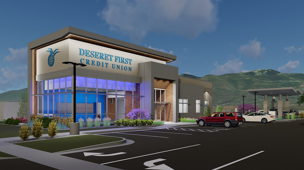 Zwick Construction is currently working on projects throughout Utah, California, Nevada, and Arizona, including the Deseret First Credit Union.