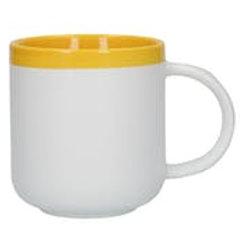Barcelona Latte Mug Mustard