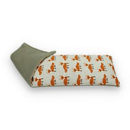 Foxes - Duo Fabric Wheat Bag