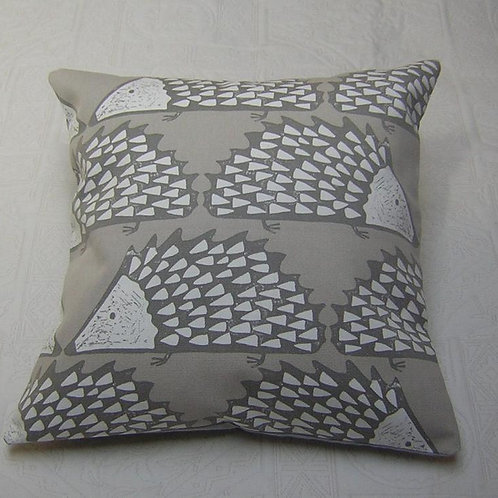 Scion Living Spike Cushion - Minky Grey