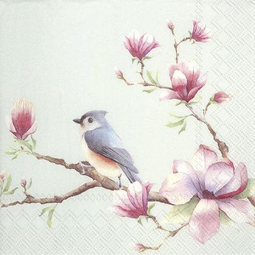 IHR Spring Melody White Paper Napkins