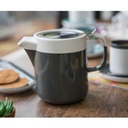 La Cafetiere Barcelona 2 cup Teapot in Cool Grey