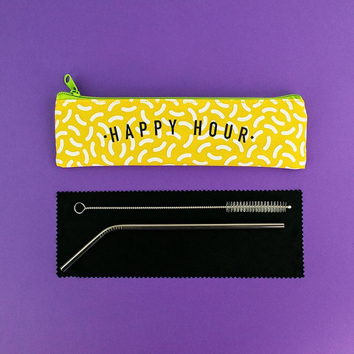 Reusable Straw - Happy Hour