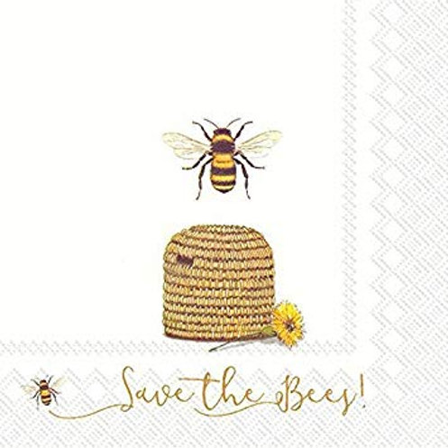 IHR 'Save the Bees' Paper Napkins