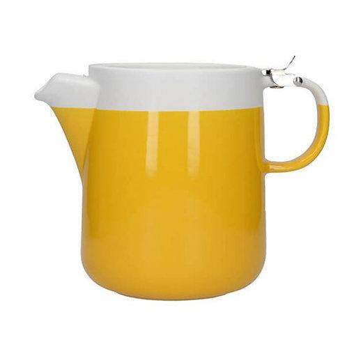 La Cafetiere Barcelona 2 cup Teapot in Mustard