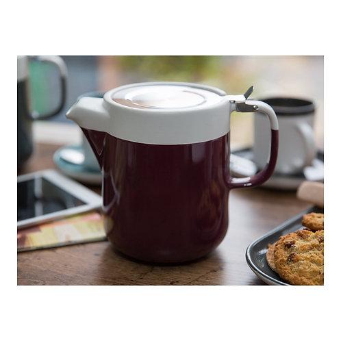 La Cafetiere Barcelona 2 cup Teapot in Plum