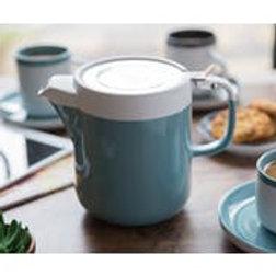 La Cafetiere Barcelona 2 cup Teapot in Retro Blue
