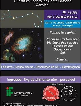 II  Luau Astronômico ( Junho de 2013 )