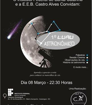 I Luau Astronômico (Março de 2013)
