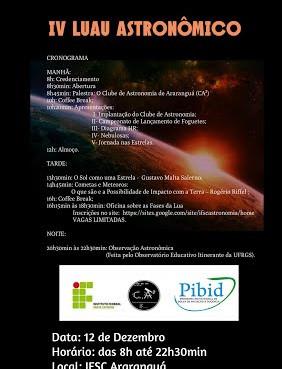 IV Luau Astronômico