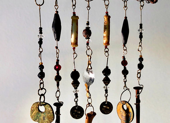 Iron Nail Windchime