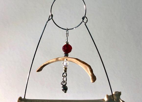 Bird bone/Cat Rib Necklace