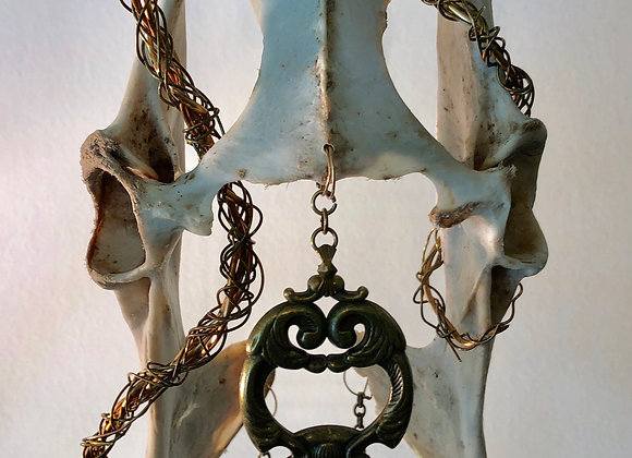 Deer Pelvis Sculpture 'Hecate'