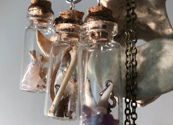 Bottle Charm Pendants