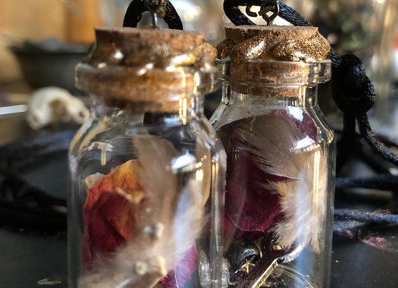 Love/Positivity Charm Bottles