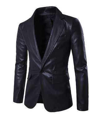 Leather Blazer_JK013