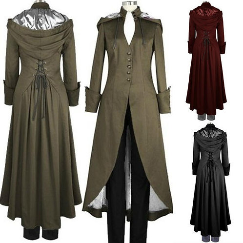 Hooded Victorian Trench
