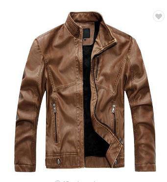 Brown Leather Jacket_JK012
