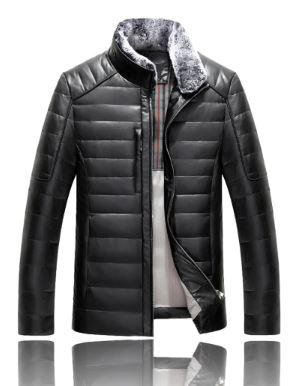 Quilted Leather Jacket_JK002