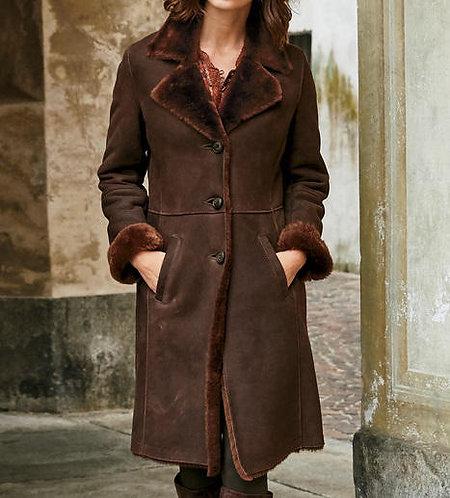 Suade Long Coat