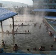 Podhajska - koupaliště v zimě