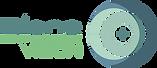 Logotipo de Bleps visión, abstracción de una mira de un topógrafo corneal
