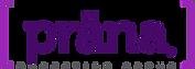 Logotipo de prana, la palabra prana dentro de corchetes y la primer a con diéresis