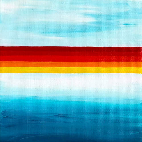 beach babe: waikiki (10x10)