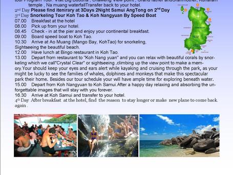 4 Days, 3 Nights in Samui, Koh Tao, Nang Yun