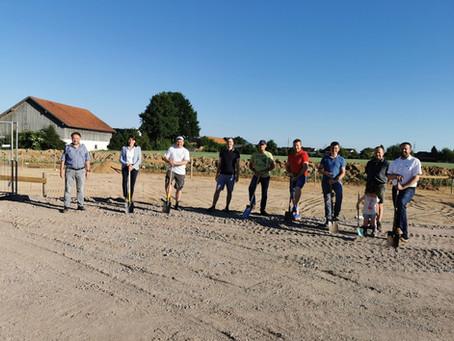2. Bauabschnitt Tiefbau + Start Bau Heizhaus