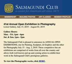 Salmagundi Photography 2019