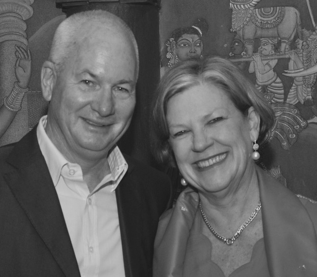 Ann Sherry AO & Michael Hogan