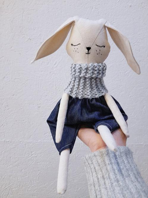Big ears bunny doll