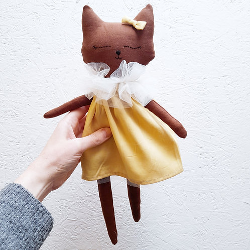 Handmade Fox Doll Limited Edition