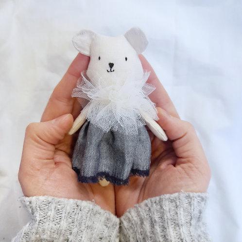 Linen Teddy Doll Play Set