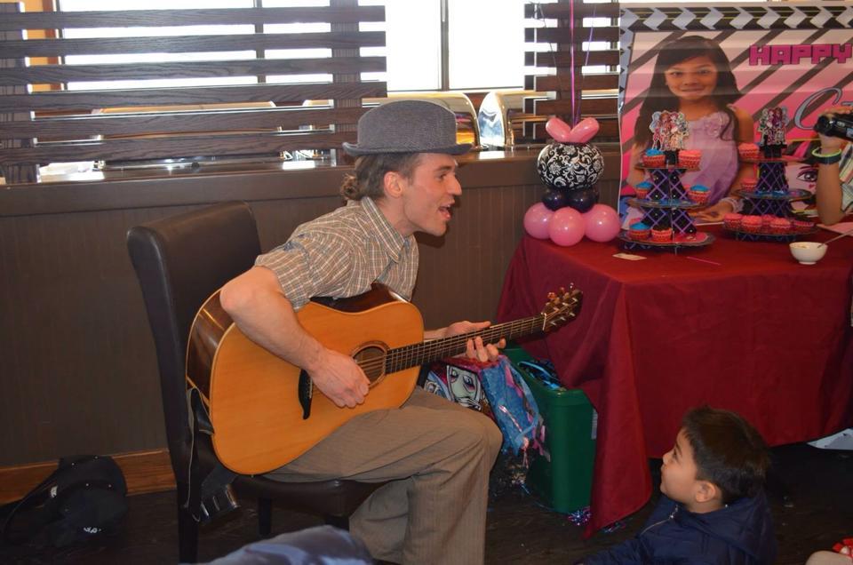 Johann children's musician musical p
